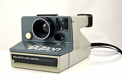 Polaroid - The Button - SX70 type camera - tested  working order