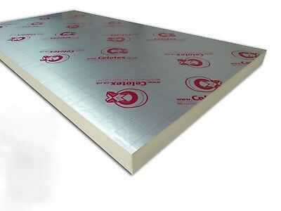Recticel & Celotex insulation board 2400x1200 Cost Per Sheet {select thickness}