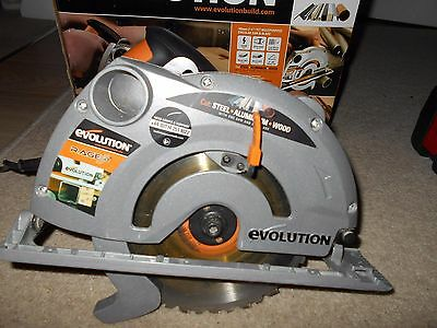 Used Evolution Rage-B Circular Saw 185 mm - Collection Only Lincoln