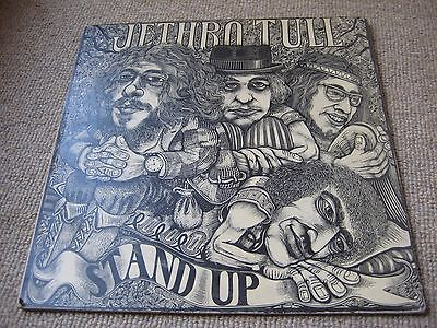 Jethro Tull Stand Up 1st UK Press Bulls Eye Island Original LP