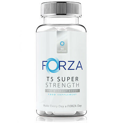FORZA T5 Super Strength - Strong Diet & Fitness Supplement For Safe Weight Loss