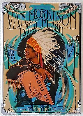The Best of the Blues Project Concert Poster Tour Rock Music Metal Sign