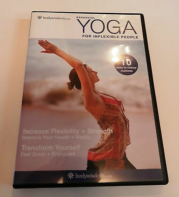 Essential Yoga for Inflexible People, Maggie Rhoades, DVD - FREE UK Postage