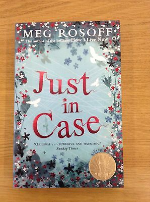 Just in Case by Meg Rosoff signed by author