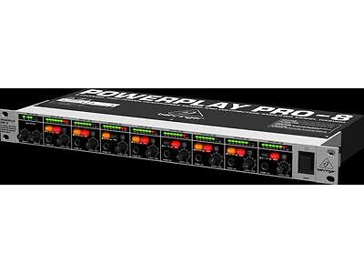 Behringer Ha8000 Power Play Pro-8 Amplificatore Preamplificatore Cuffie 8 Canali