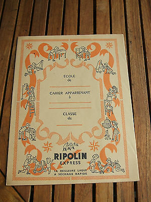 Ancien Protege Cahier Ripolin