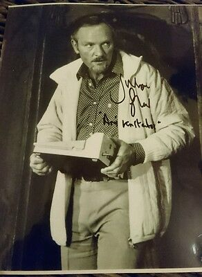 Julian Glover Hand Signed 8x10 Photo 'For Your Eyes Only '