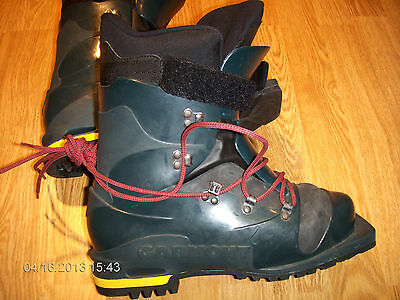 Garmont Plastic Boot Telemark Boots Men's 6 Euro 39 Three Pin Barely Used