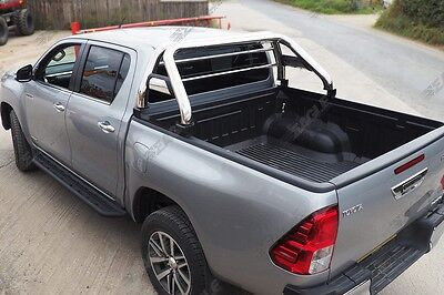 NEW 2016+ Toyota Hilux Roll Bar Stainless Steel - Fits with Tonneau Covers