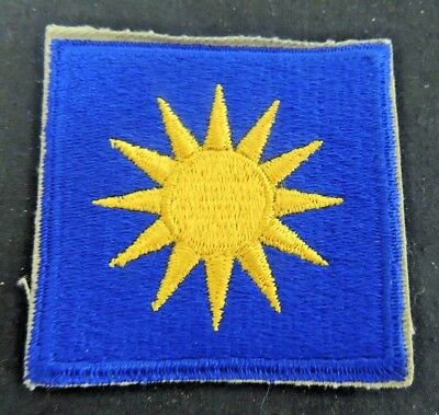 Original WW2 USAAF Air Force Shoulder Patch WWII Army 40th Infantry Division Sun