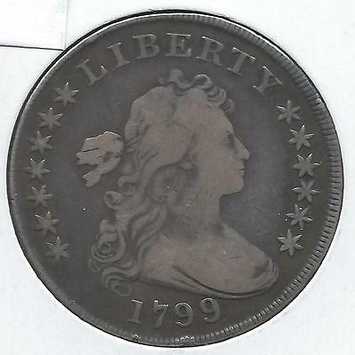 1799/8 13 Star Bust Dollar***fine Condition***free Shipping In Usa!!!       Ab00