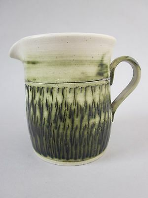 Andrew Bristow Bonchurch Studio Art Pottery Jug ~ I.O.W Isle of Wight ~ C. 1970s