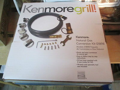 New KENMORE Grill Propane to Natural Gas Conversion Kit 7101898 71 01898