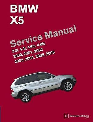 BMW X5 E53 3.0i 4.4i 4.6is 4.8is Owners Service Repair Manual Handbook Book