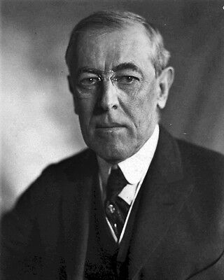 New 8x10 Photo: Woodrow Wilson, 28th President of the United States