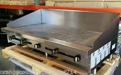 """NEW 36"""" Griddle Flat Top Grill Commercial Stratus #4098 NSF Restaurant Planchas"""