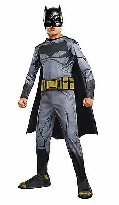 DC COMICS BATMAN STANDARD CHILD COSTUME Halloween Cosplay Fancy Dress B3