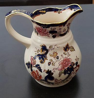 Masons Blue Mandalay Jug - excellent condition