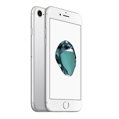 New Apple iPhone 7 32GB GSM FACTORY UNLOCKED Silver Smartphone