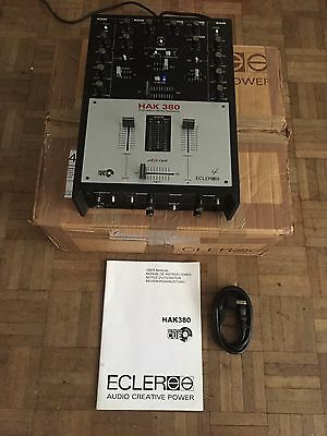 Rare Ecler HAK 380 Scratch Mixer Eternal Fader New and Boxed