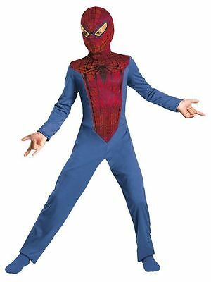 THE AMAZING SPIDERMAN STANDARD CHILD COSTUME Halloween Cosplay Fancy Dress B3