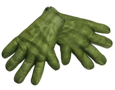HULK HAND CHILD GLOVES AGE OF ULTRON Super Hero Halloween Cosplay DressUp