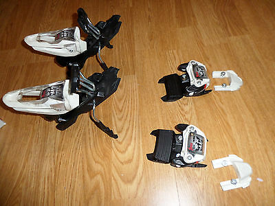Marker Free Ten 10.0 Alpine Ski Bindings 85 Mm Brakes