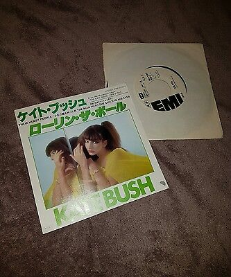 Kate Bush Them Heavy People The Man With The Child Japan Original Promo 7""