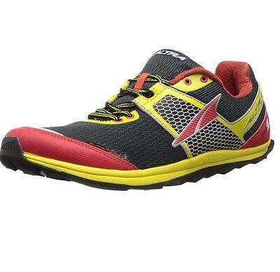 Altra Superior 1.5 Zero Drop Trail Running Shoes Black/Lemon/Red 8.5 D UK 43 EU