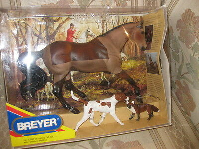 """Breyer Collectible Horse """"Fox Hunting Gift Set"""" #3359"""