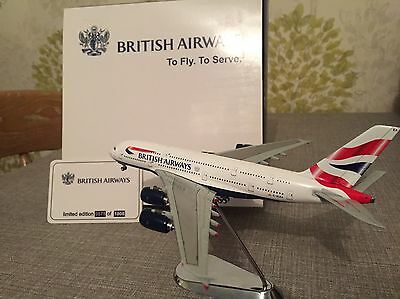 British Airways Airbus A380 G-XLEA Limited Edition 575 Of 1008 Model Plane