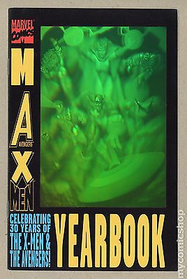 Max Yearbook (1990 Marvel) #1 VG/FN 5.0