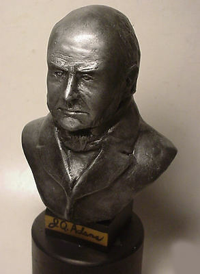 BUST OF JOHN QUINCY ADAMS, 6th PRESIDENT OF THE UNITED STATES