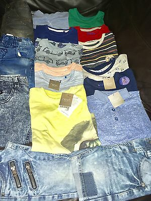 Toddler Boys Brand New & Used Next Bundle To Fit 2-3 Years