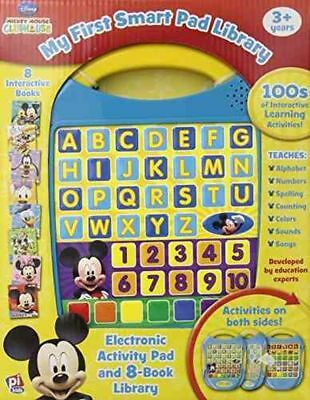 Publications International Mickey Mouse Clubhouse My First Smart Pad Library