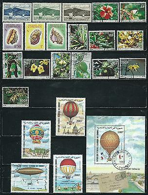 Comoro Islands -  23  stamps mixed - Years 1950  to 1977...Souv. Sheet &sets