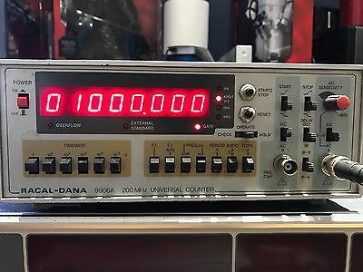 Racol Dana 9906A 200Mhz Frequency Counter Ham Radio