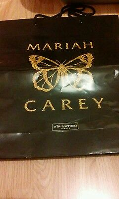 Mariah Carey Sweet sweet fantasy tour VIP Bag.