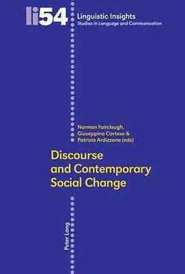 Discourse and Contemporary Social Change by Paperback Book (English)