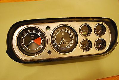 FORD Mk 1 ESCORT  RS 2000 MEXICO.  COMPLETE DASH. 140MPH SPEEDO  8000RPM TACHO