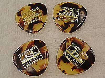 Golden Gate MP-12 Deluxe ROUNDED TRIANGLE MANDOLIN PICKS MADE IN THE USA 4 PICKS
