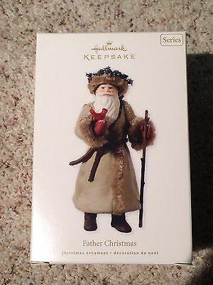 Hallmark Ornaments Father Christmas Series #7 7th 2010 New