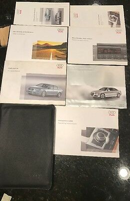 2008 Audi A6 Owners Manual Complete Set With MMI infotainment Guide