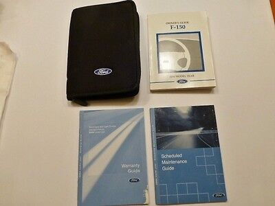 2004 Ford F-150 pickup owners manual set with case. factory