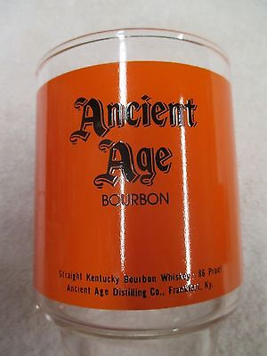 Ancient Age Whiskey Glasses - Set of 4