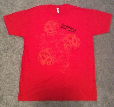 Wendy's Fast Food Restaurant T-Shirt *Never Worn* Size L