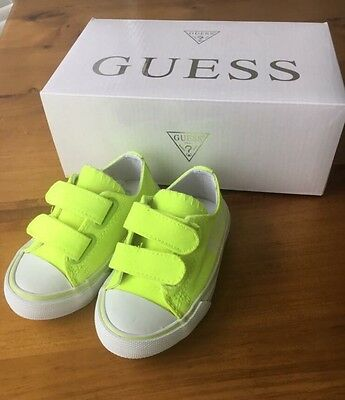Guess Toddler Shoes Brand New In Box Size 5