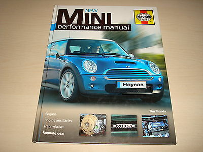 New Mini (Bmw) Performance Manuale By Tim Mundy - Haynes 2008 New, Vecchio Stock