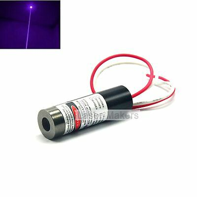 Focusable 405nm 20mw Violet/Blue Laser Dot Diode Module 13x42mm