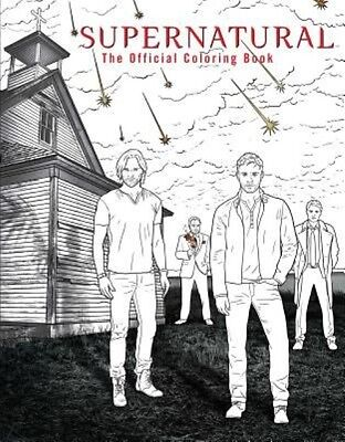Supernatural: The Official Coloring Book by Insight Editions Paperback Book (Eng